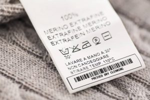 Barcoded dry cleaning